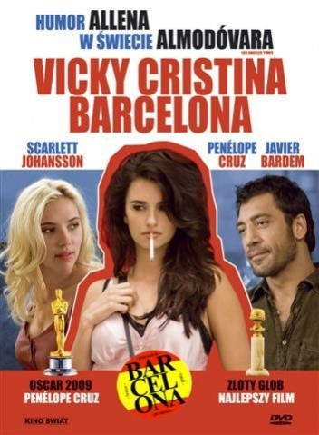 Okładka książki Vicky Cristina Barcelona (książka + film)