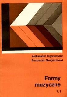 Okładka książki Formy muzyczne. T. 1-2