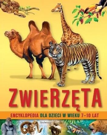 Okładka książki Zwierzęta. Encyklopedia dla dzieci 7-10 lat
