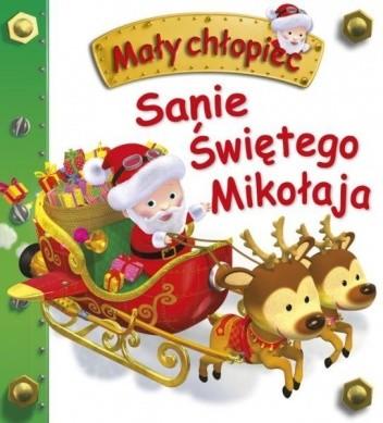 Okładka książki Sanie Świętego Mikołaja