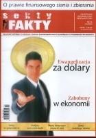 Okładka książki Sekty i Fakty. Kwartalnik informacyjno-profilaktyczny. Nr 2008/3