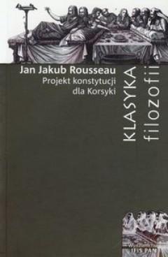 Okładka książki Projekt Konstytucji dla Korsyki