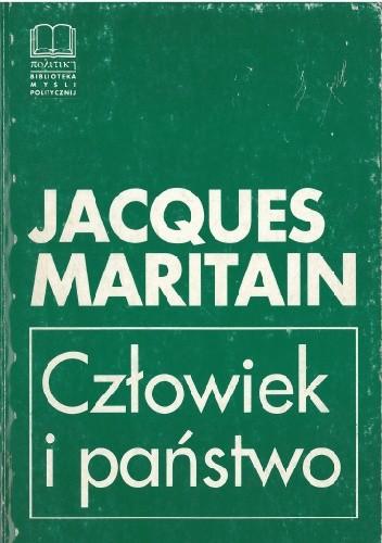 Okładka książki Człowiek i państwo