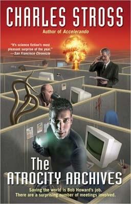Okładka książki The Atrocity Archives