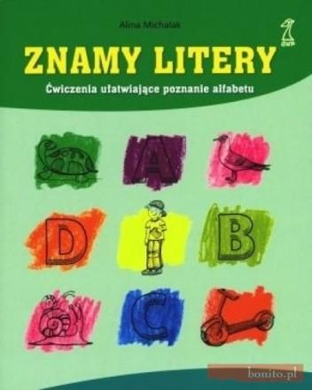 Okładka książki Znamy litery