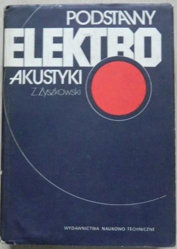 Okładka książki Podstawy elektroakustyki