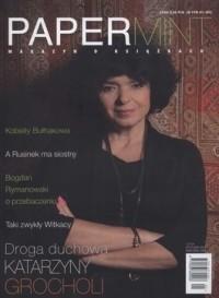 Okładka książki PAPERMINT nr 1(17)/styczeń 2013
