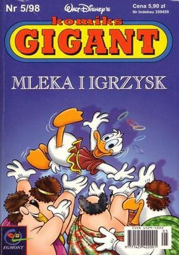 Okładka książki Gigant 5/98: Mleka i igrzysk
