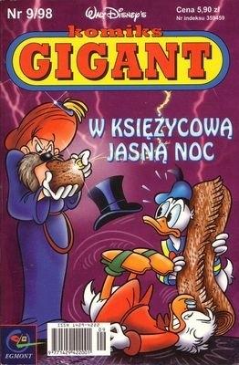 Okładka książki Gigant 9/98: W księżycową jasną noc