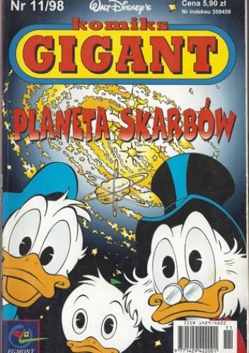Okładka książki Gigant 11/98: Planeta skarbów