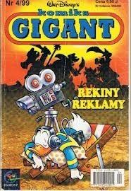 Okładka książki Gigant 4/99: Rekiny reklamy