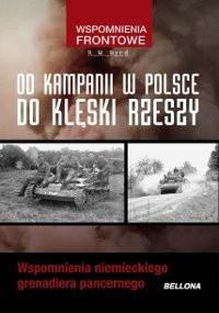 Okładka książki Od Kampanii W  Polsce Do Klęski Rzeszy