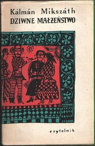 Okładka książki Dziwne Małżeństwo