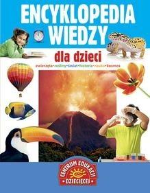 Okładka książki Encyklopedia wiedzy dla dzieci
