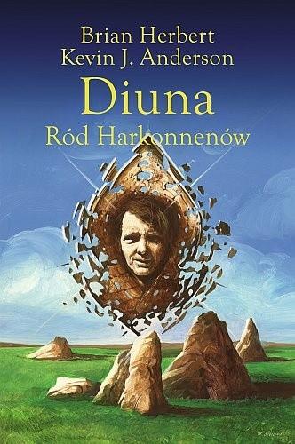 Okładka książki Diuna. Ród Harkonnenów