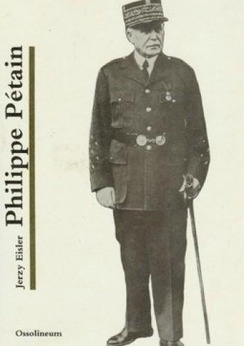Okładka książki Philippe Pétain