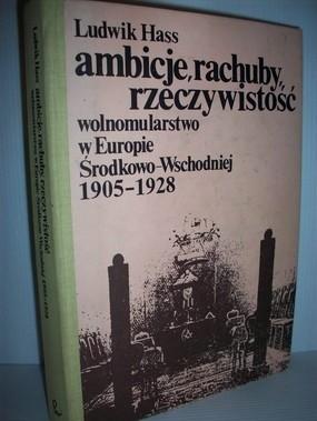 Okładka książki Ambicje, rachuby, rzeczywistość : wolnomularstwo w Europie Środkowo-Wschodniej 1905-1928