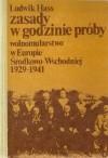Okładka książki Zasady w godzinie próby - Wolnomularstwo w Europie Środkowo-Wschdniej 1929-1941