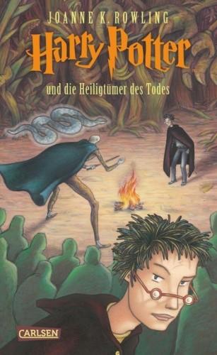 Okładka książki Harry Potter und die Heiligtümer des Todes
