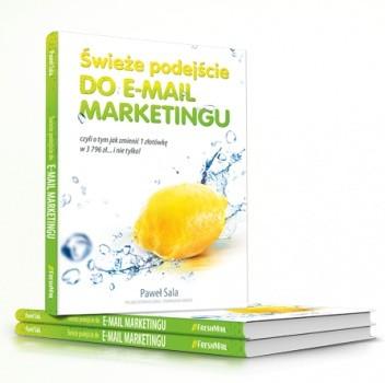 Okładka książki Świeże podejście do e-mail marketingu
