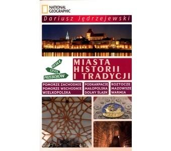 Okładka książki Miasta historii i tradycji