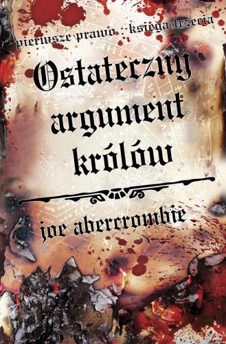 Okładka książki Ostateczny argument królów