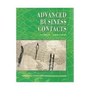 Okładka książki Advanced business contacts