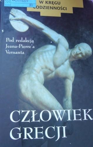 Okładka książki Człowiek Grecji