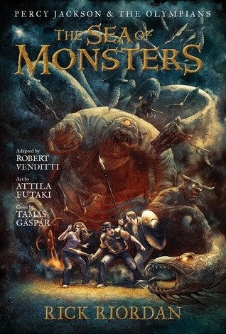 Okładka książki The Graphic Novels: Percy Jackson and the Olympians: The Sea of Monsters