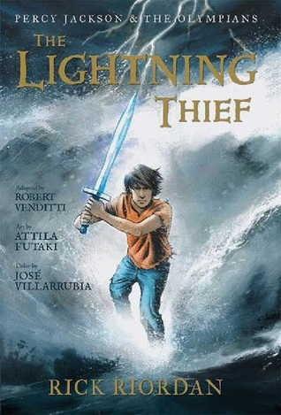 Okładka książki The Graphic Novels: Percy Jackson and the Olympians: The Lightning Thief