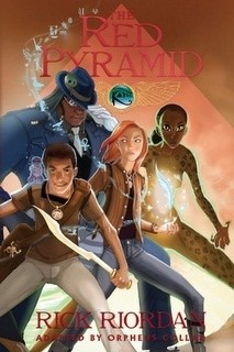 Okładka książki The Kane Chronicles: The Red Pyramid: The Graphic Novel