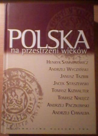 Okładka książki Polska na przestrzeni wieków