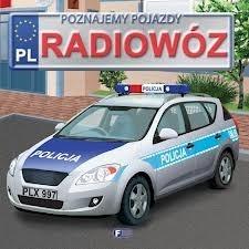 Okładka książki Poznajemy pojazdy. Radiowóz