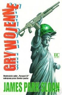 Okładka książki Gry Wojenne