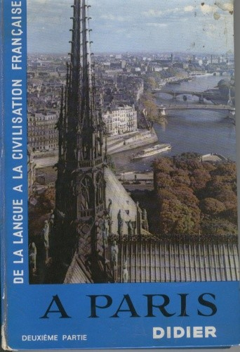 Okładka książki À Paris. Deuxième partie