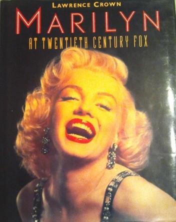 Okładka książki Marilyn at Twentieth Century Fox