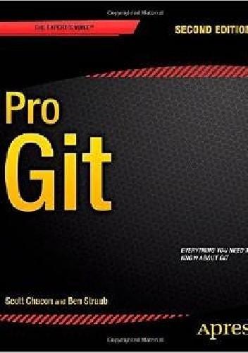 Okładka książki Pro Git