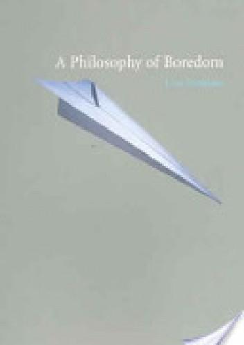 Okładka książki Philosophy of Boredom