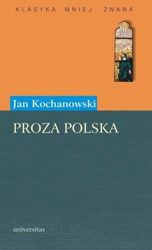 Okładka książki Proza polska