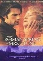 Okładka książki The roman spring of Mrs. Stone