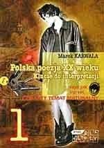 Okładka książki Polska poezja XX wieku. Klucze do interpretacji. Cz. 1