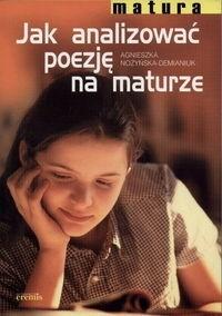 Okładka książki Jak analizować poezję na maturze