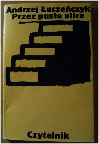Okładka książki Przez puste ulice