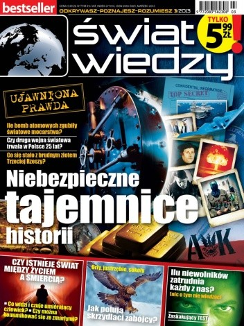 Okładka książki Świat Wiedzy (3/2013)