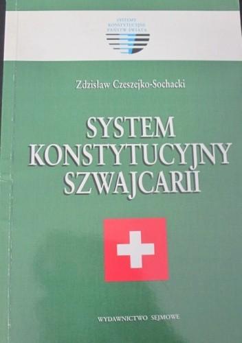 Okładka książki System konstytucyjny Szwajcarii
