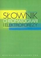 Okładka książki Słownik chromatografii i elektroforezy