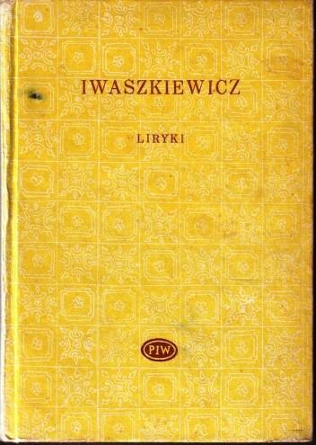 Okładka książki Liryki