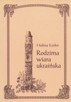 Okładka książki Rodzima wiara ukraińska