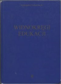 Okładka książki Widnokręgi edukacji