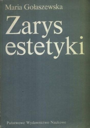 Okładka książki Zarys estetyki : problematyka, metody, teorie